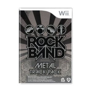 Jogo Rock Band Metal Track Pack - Wii
