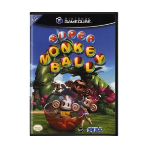 Jogo Super Monkey Ball - GameCube