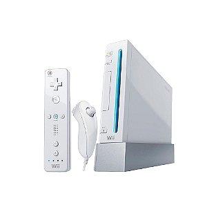 Console Nintendo Wii Branco - Nintendo (Europeu)