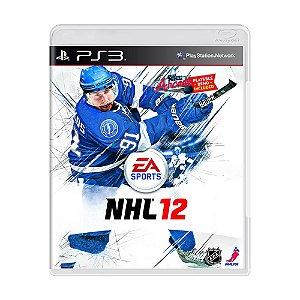 Jogo NHL 12 - PS3