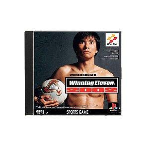 Jogo World Soccer Winning Eleven 2002 - PS1 (Japonês)