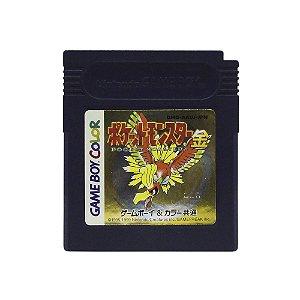 Jogo Pokémon Gold Version - GBC (Japonês)