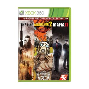 Jogo Spec Ops: The Line + Borderlands 2 + Mafia II (Rogues and Outlaws Collection) - Xbox 360