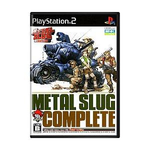Jogo Metal Slug Complete - PS2 (Japonês)