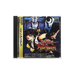 Jogo Samurai Spirits: Zankuro Musouken - Sega Saturn (Japonês)