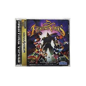 Jogo Fighting Vipers - Sega Saturn (Japonês)
