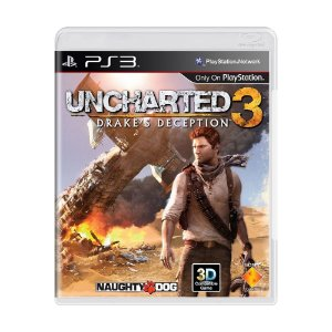 Jogo Uncharted 3: Drake's Deception - PS3