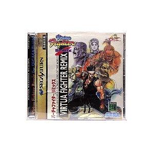 Jogo Virtua Fighter Remix - Sega Saturn (Japonês)