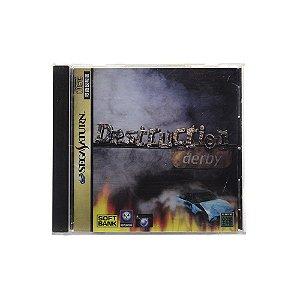 Jogo Destruction Derby - Sega Saturn (Japonês)