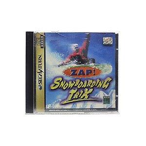 Jogo Zap! Snowboarding Trix - Sega Saturn (Japonês)
