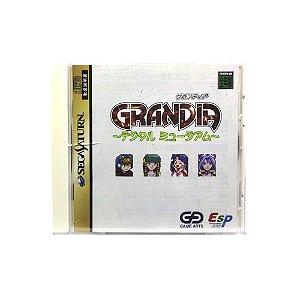 Jogo Grandia Digital Museum - Sega Saturn (Japonês)