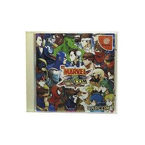 Jogo Marvel vs. Capcom: Clash of Super Heroes - DreamCast (Japonês)