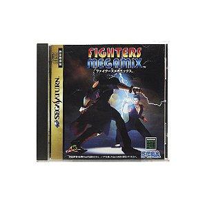 Jogo Fighters Megamix - Sega Saturn (Japonês)