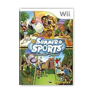 Jogo Summer Sports: Paradise Island - Wii