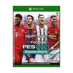 Jogo eFootball Pro Evolution Soccer 2021 Season Update - Xbox One