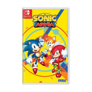 Jogo Sonic Mania - Switch
