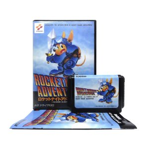 Jogo Rocket Knight Adventures - Mega Drive (Japonês)