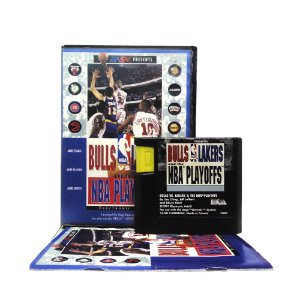 Jogo Bulls vs Lakers and the NBA Playoffs - Mega Drive