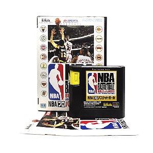 Jogo NBA Pro Basketball: Bulls vs Lakers and the NBA Playoffs - Mega Drive (Japonês)