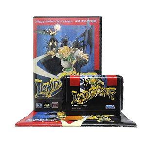 Jogo Landstalker: Koutei no Zaihou - Mega Drive (Japonês)