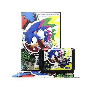 Jogo Sonic Spinball - Mega Drive (Japonês)