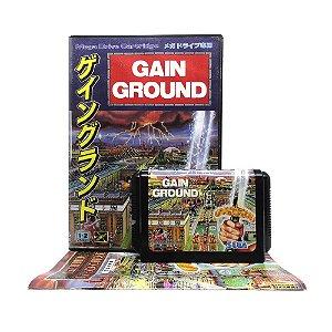 Jogo Gain Ground - Mega Drive (Japonês)
