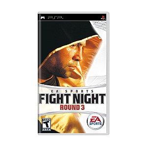 Jogo Fight Night Round 3 - PSP