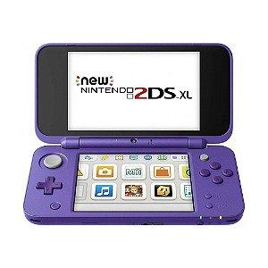 Console New Nintendo 2DS XL Roxo e Prata - Nintendo