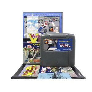 Jogo Virtua Racing - Mega Drive (Japonês)