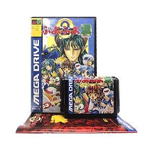 Jogo Puyo Puyo Tsuu - Mega Drive (Japonês)