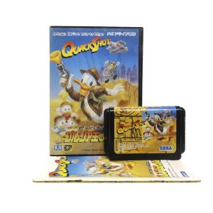 Jogo I Love Donald Duck: Guruzia Ou no Hihou - Mega Drive (Japonês)