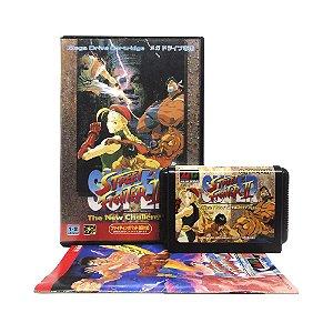 Jogo Super Street Fighter II: The New Challengers - Mega Drive (Japonês)