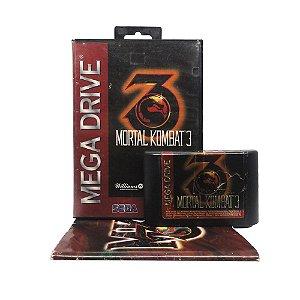 Jogo Mortal Kombat 3 - Mega Drive