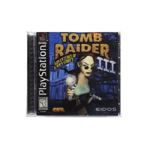 Jogo Tomb Raider III: Adventures of Lara Croft - PS1