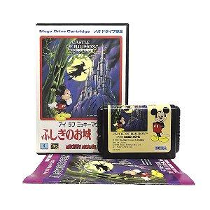 Jogo I Love Mickey Mouse: Fushigi no Oshiro Daibouken - Mega Drive (Japonês)
