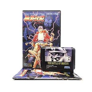 Jogo Garou Densetsu: Shukumei no Tatakai - Mega Drive (Japonês)