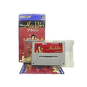 Jogo Aladdin - SNES (Japonês)