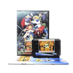 Jogo Gunstar Heroes - Mega Drive (Japonês)
