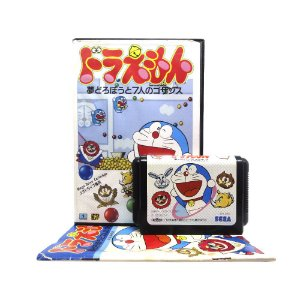 Jogo Doraemon: Yume Dorobou to 7-Jin no Gozans - Mega Drive (Japonês)