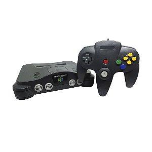 Console Nintendo 64 Preto - Nintendo (Japonês)