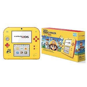 Console Nintendo 2DS (Edição Super Mario Maker) - Nintendo