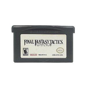 Jogo Final Fantasy Tactics Advance - GBA
