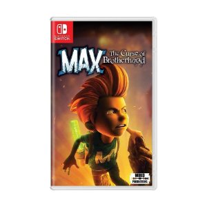 Jogo Max: The Curse Of Brotherhood - Switch
