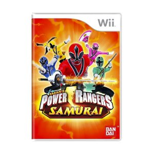 Jogo Power Rangers Samurai - Wii