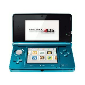 Console Nintendo 3DS Aqua Blue - Nintendo