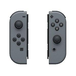 Controle Nintendo Joy-Con (Direito e Esquerdo) Cinza - Switch