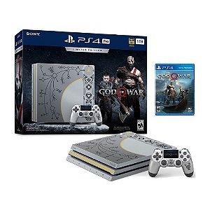 Console PlayStation 4 Pro 1TB (Edição God of War) - Sony