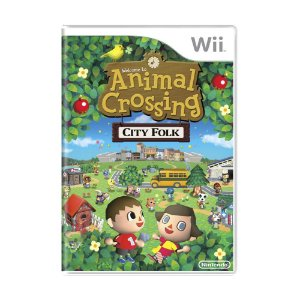 Jogo Animal Crossing: City Folk - Wii