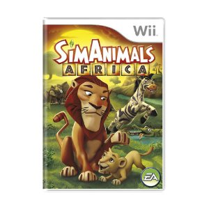 Jogo SimAnimals Afríca - Wii