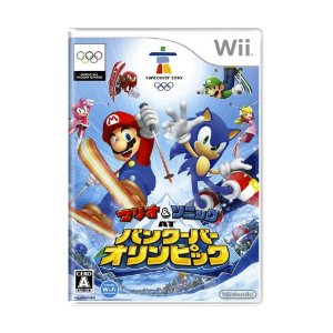 Jogo Mario & Sonic: At the Olympic Winter Games Vancouver 2010 - Wii (Japonês)